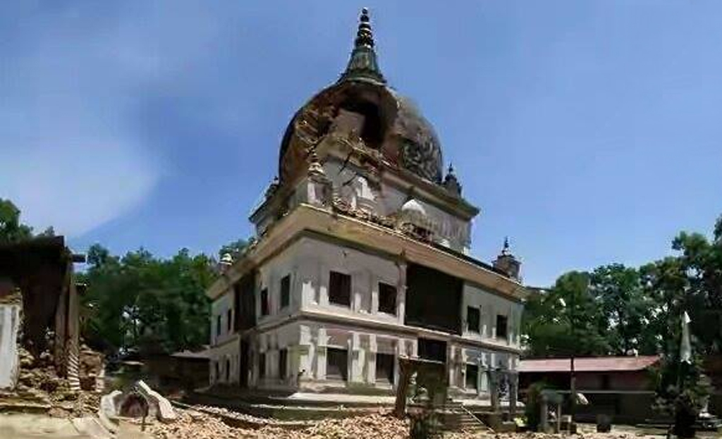 पुरातत्व विभागद्वारा विश्वरूप मन्दिर पुनःनिर्माण गर्न स्वीकृति