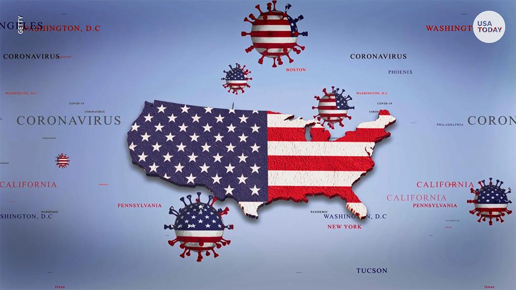 अमेरिकामा संक्रमित संख्या १ करोड ३४ लाख नाघ्यो, २ लाख ७१ हजार बढीको मृत्यु